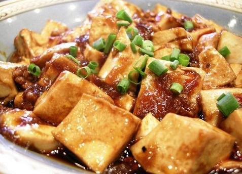 Ma Po Tofu (with minced beef)